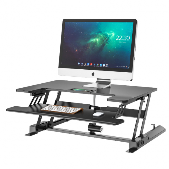 Ergonomic Electric Standing / Sitting Desk LD02E - CASIII Black